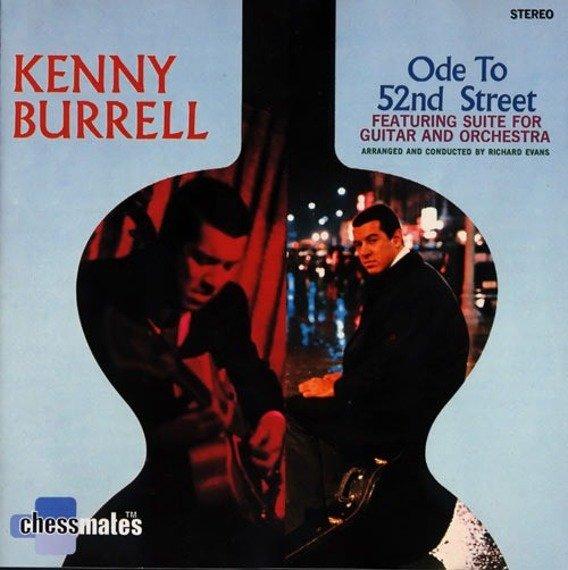 płyta CD: KENNY BURRELL - ODE TO 52ND STREET