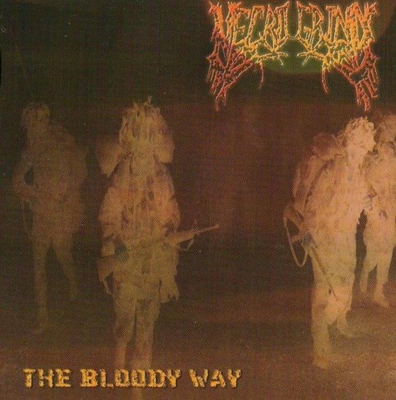 płyta CD: NECROGRIND - THE BLOODY WAY