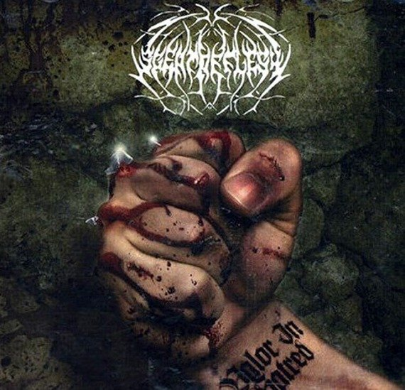 płyta CD: SCENT OF FLESH - VALOR IN HATRED