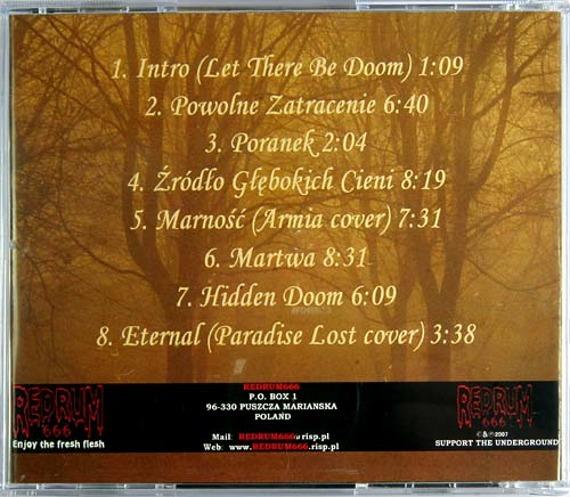 płyta CD: SOURCE OF DEEP SHADOWS - SOURCE OF DOOM AND PERPETUAL NIGHT