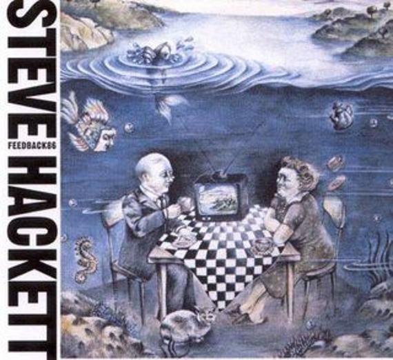 płyta CD: STEVE HACKETT - FEEDBACK 86