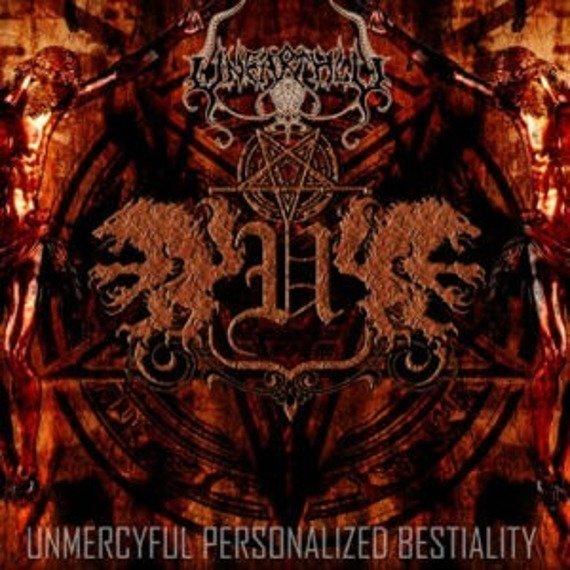 płyta CD: UNEARTHLY - UNMERCYFUL PERSONALIZED BESTIALITY