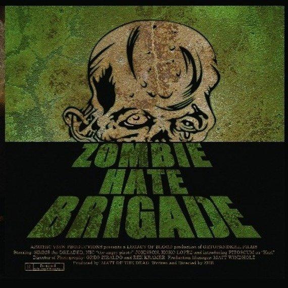 płyta CD: ZOMBIE HATE BRIGADE - ZOMBIE HATE BRIGADE
