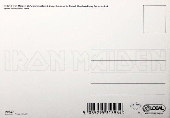 pocztówka IRON MAIDEN - POWER SLAVE