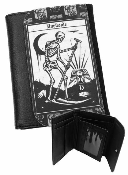 portfel DARKSIDE - DEATH TAROT CARD