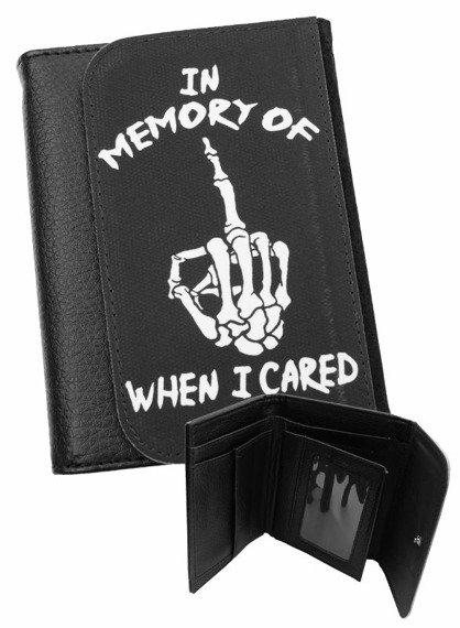 portfel DARKSIDE - IN MEMORY OF WHEN I CARED
