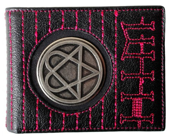 portfel HIM - HEARTAGRAM w etui
