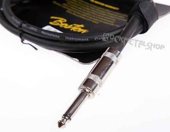 przewód instrumentalny BOSTON: jack/jack prosty (6.3mm) / 1m