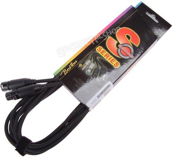 przewód mikrofonowy BOSTON S-SERIES SWITCHCRAFT: XLR żeński -  XLR męski / 5m