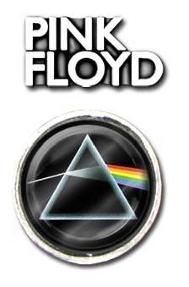 przypinka PINK FLOYD - zestaw LOGO + DSOTM