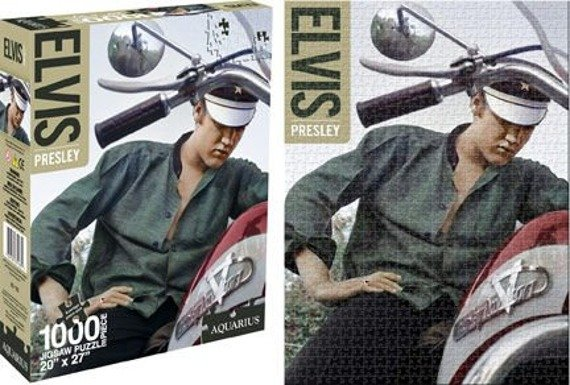 puzzle ELVIS PRESLEY - BIKE 1000 szt