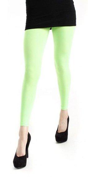 rajstopy zielone 3D FOOTLESS