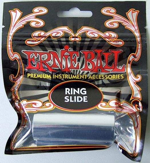 rurka / slide ERNIE BALL EB 4235 Ring / na palec środkowy, stal chromowana