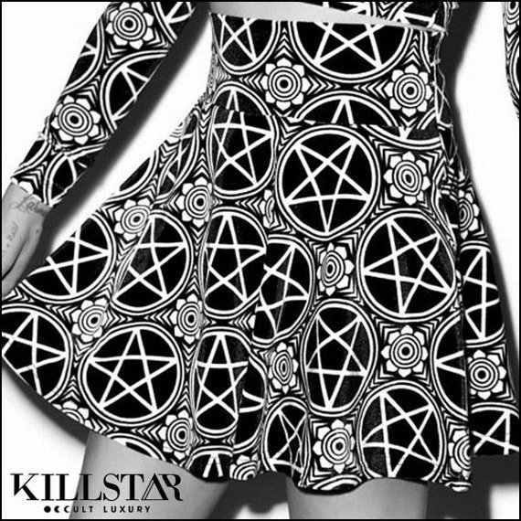 spódniczka KILL STAR - PENTAGRAM