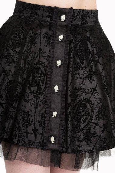 spódniczka gotycka BANNED