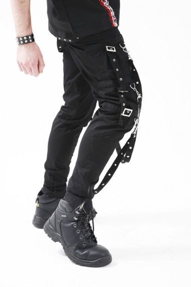 spodnie DEAD THREADS (BLACK)