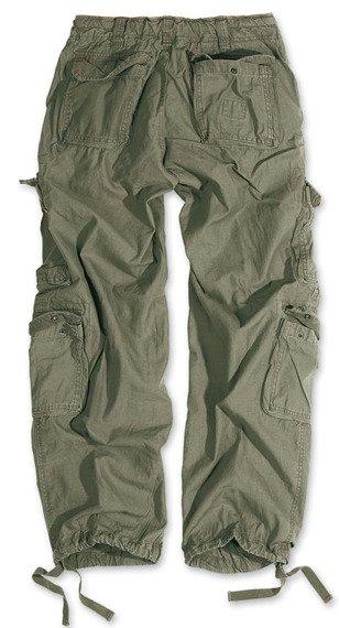 spodnie bojówki AIRBORNE VINTAGE TROUSERS OLIVE