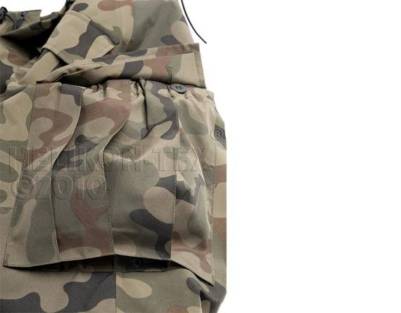 spodnie bojówki ECWCS TROUSERS GEN II PL WOODLAND