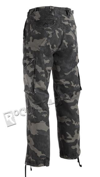 spodnie bojówki HUDSON RIPSTOP TROUSER darkcamo