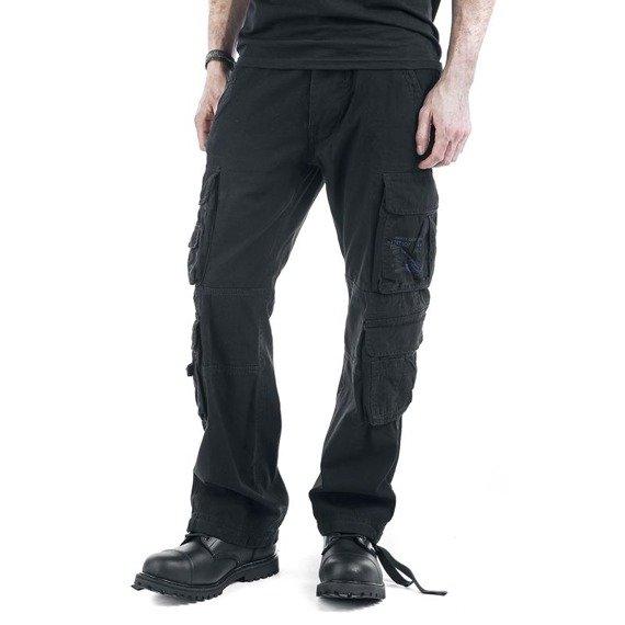 spodnie bojówki PURE VINTAGE black