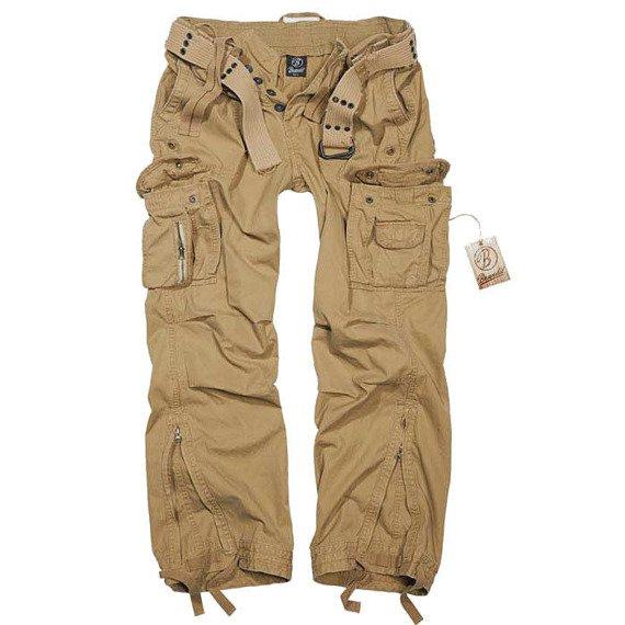 spodnie bojówki ROYAL VINTAGE beige