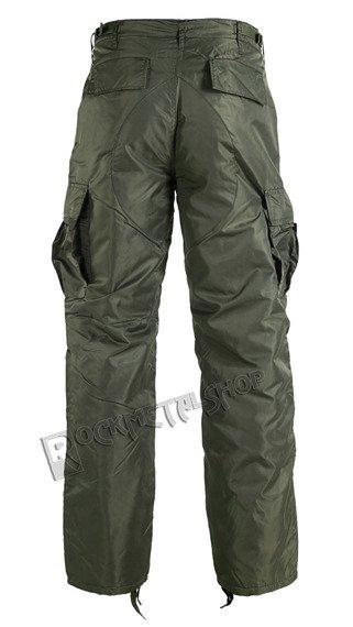 spodnie bojówki THERMO HOSE olive