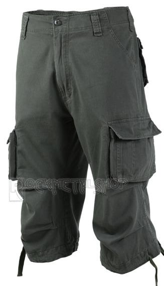 spodnie bojówki URBAN LEGEND 3/4 - OLIV