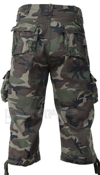 spodnie bojówki URBAN LEGEND 3/4 - WOODLAND