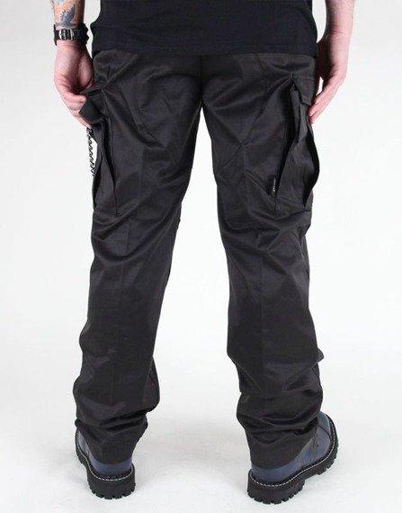 spodnie bojówki US FELDHOSE TYP BDU SCHWARZ