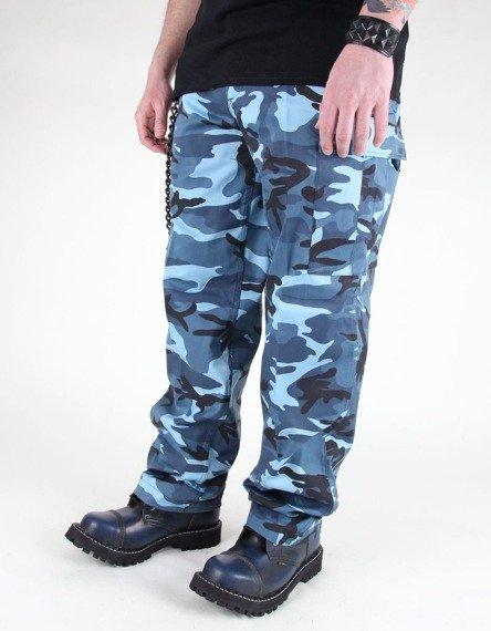 spodnie bojówki US RANGER HOSE TYP BDU SKYBLUE