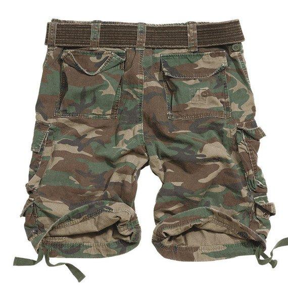 spodnie bojówki krótkie DIVISION SHORTS WOODLAND