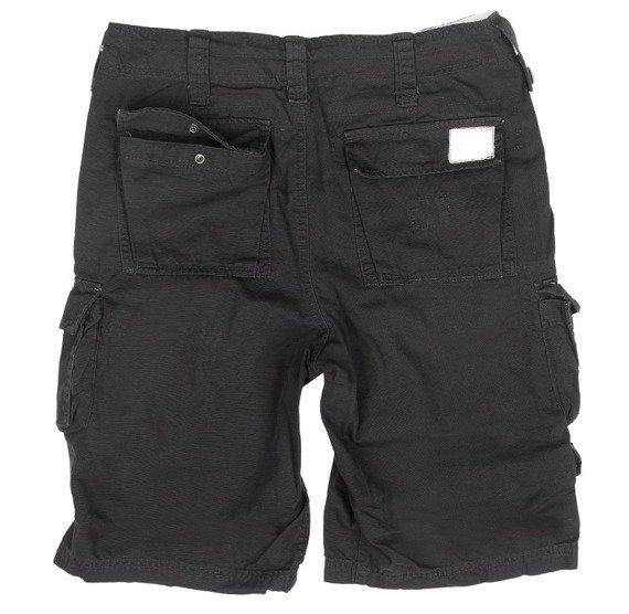 spodnie bojówki krótkie TROOPER SHORTS czarne