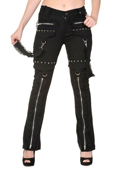 spodnie damskie BANNED - GOTH