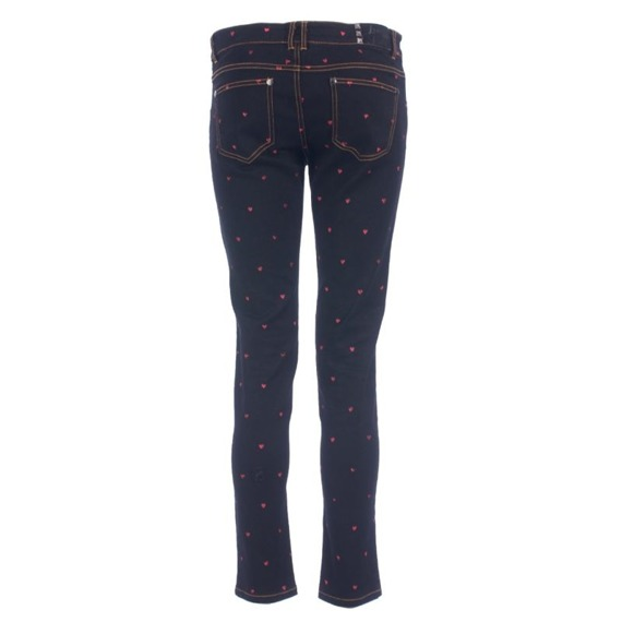 spodnie damskie IRON FIST - RIP MY HEART QUT DENIM black
