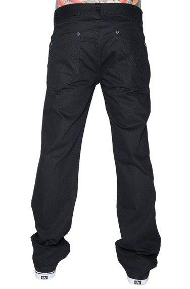 spodnie jeansowe METAL MULISHA - TAKEN czarne