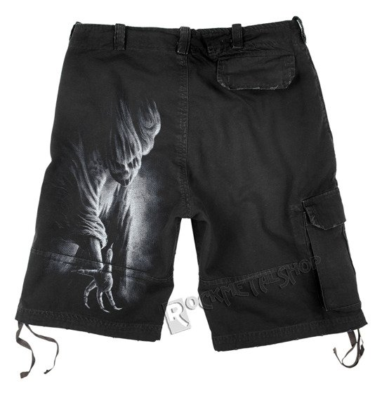 spodnie krótkie TORMENT SHORTS vintage (TR265935)