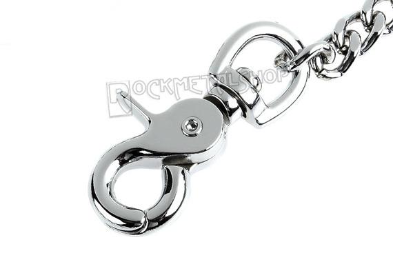 średni łańcuch do kluczy/portfela 100 cm
