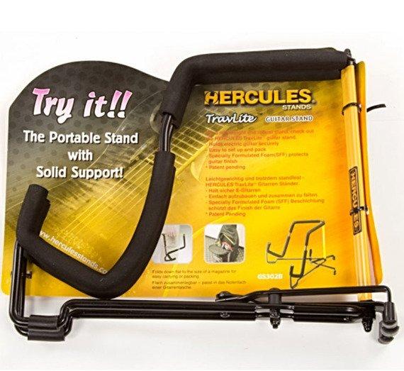 statyw gitarowy HERCULES GS302B do gitary elektrycznej