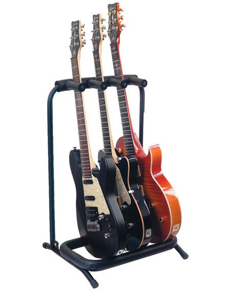 stojak na 3 gitary BOSTON GS-803 - do gitar elektrycznych i basowych