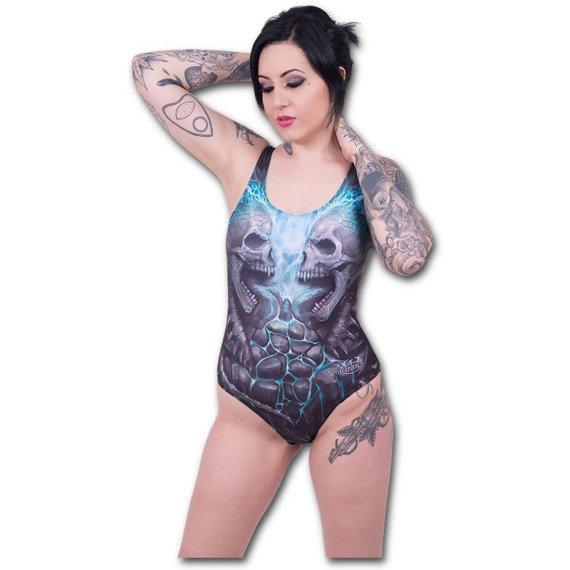 strój kąpielowy SPIRAL - FLAMING SPINE