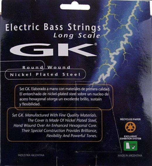 "struny do gitary basowej 5str. MEDINA ARTIGAS 2080/5 ""GK"" Nickel Plated / Medium /045-130/"