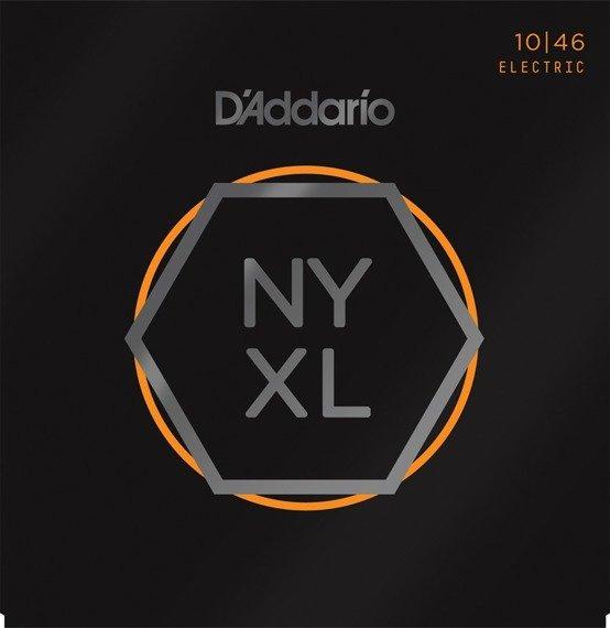 struny do gitary elektrycznej D'ADDARIO NYXL1046 Regular Light /010-046/