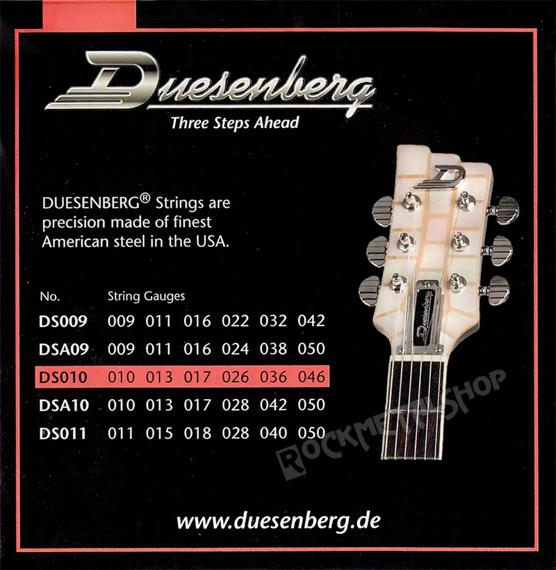 struny do gitary elektrycznej DUESENBERG DS010 /010-046/
