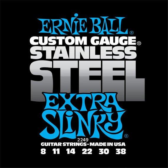 struny do gitary elektrycznej ERNIE BALL EB2249 Slinky Extra /008-038/