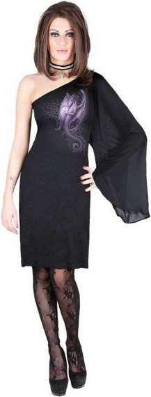 sukienka MYSTIC DRAGON czarna