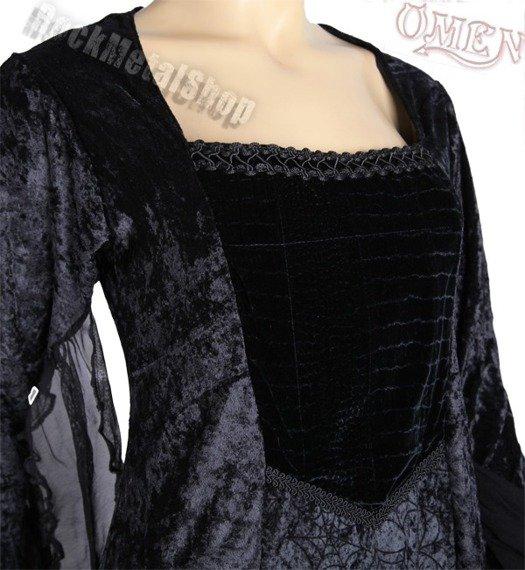 suknia RUBY CZARNA (2261/2262)
