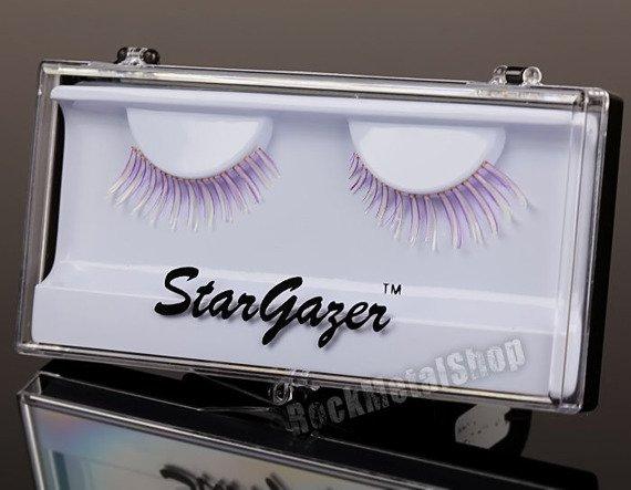 sztuczne rzęsy STARGAZER - PURPLE GLOW IN UV