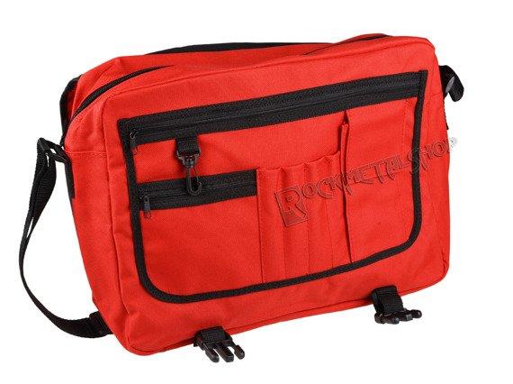 torba DEAD KENNEDYS - DISTRESSED LOGO RED, na ramię
