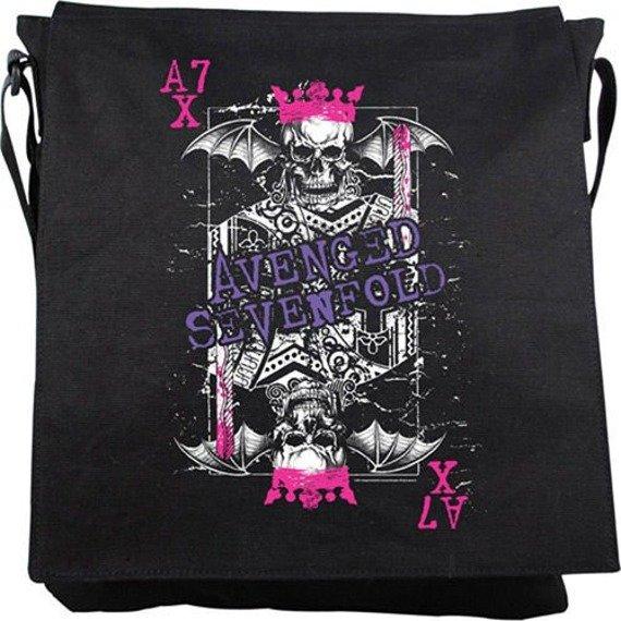 torba na ramię AVENGED SEVENFOLD - KING ON BLACK