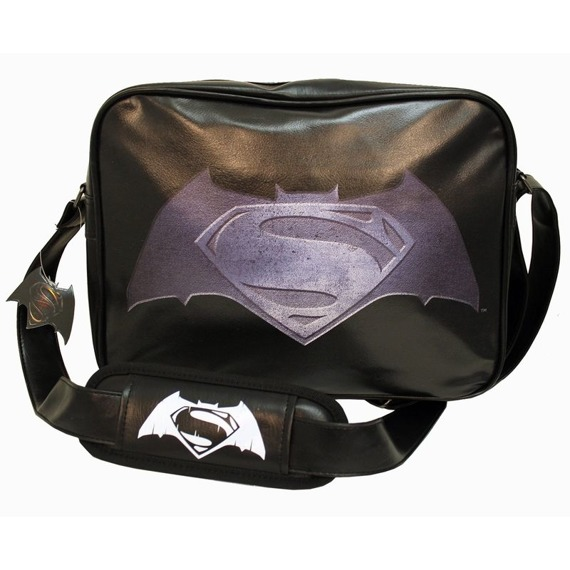 torba na ramię BATMAN VS SUPERMAN - STEEL LOGO